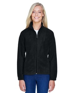 Harriton M990W - Ladies 8 oz. Full-Zip Fleece
