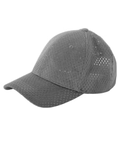 Big Accessories BX017 - 6-Panel Structured Mesh Baseball Cap