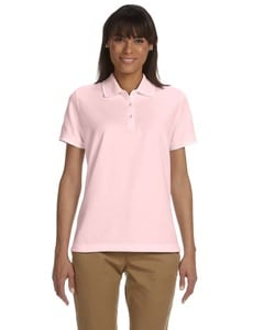 Devon & Jones D113W - Ladies Pima Piqué Short-Sleeve Tipped Polo
