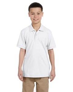 Harriton M265Y - Youth 5.6 oz. Easy Blend™ Polo