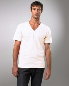 American Apparel 2456ORG - Organic Cotton Short Sleeve V-Neck