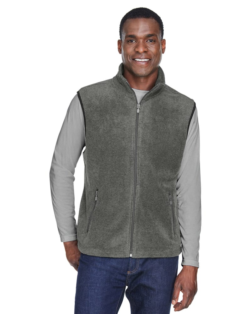 Harriton M985 - 8 oz. Fleece Vest