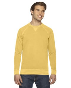 Authentic Pigment AP205 - Mens French Terry Crew