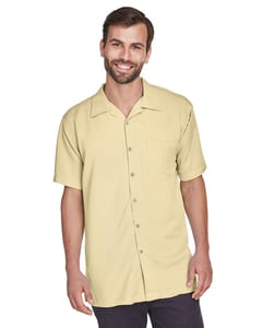 Harriton M570 - Mens Bahama Cord Camp Shirt