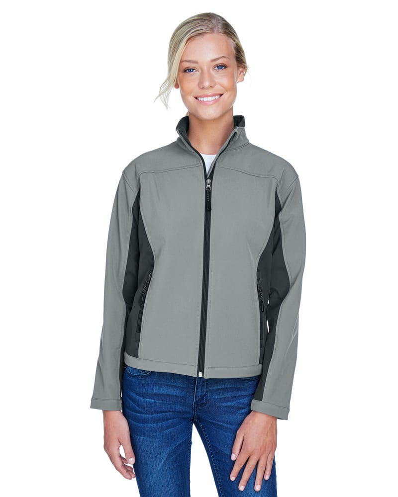 Devon & Jones D997W - Ladies Soft Shell Colorblock Jacket