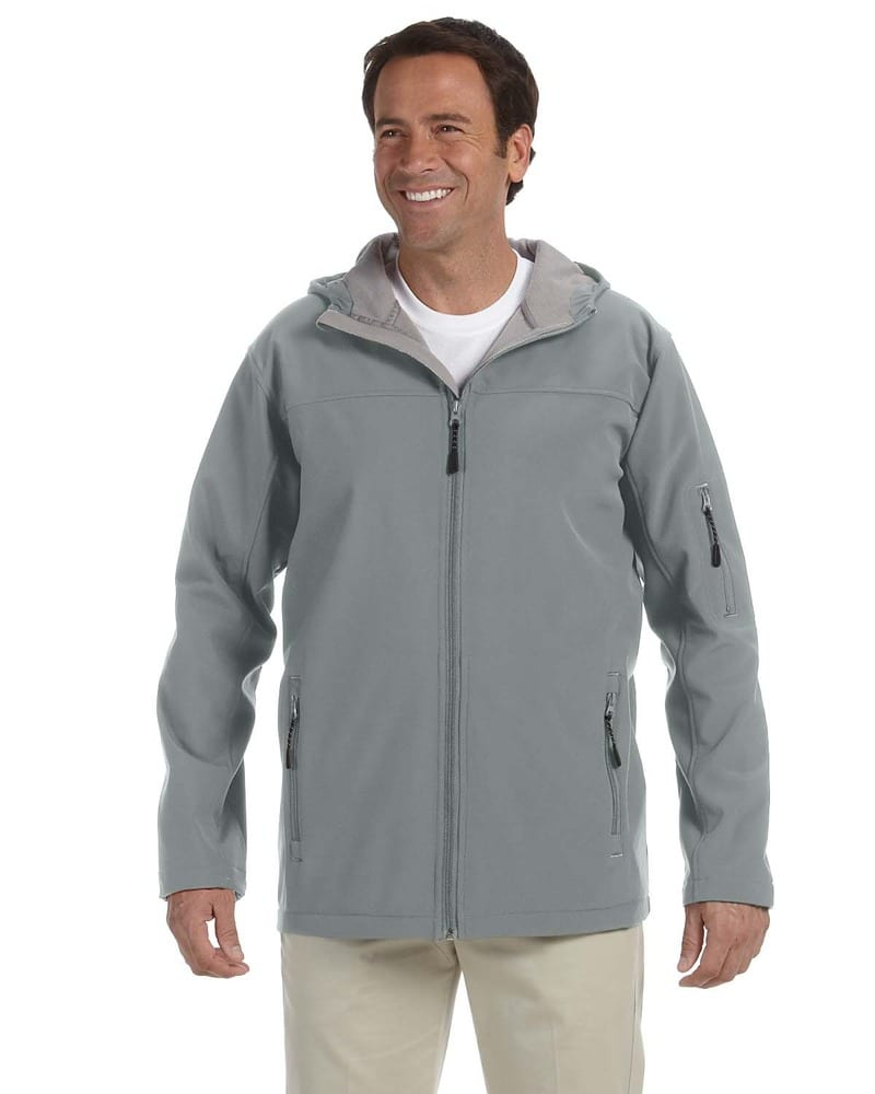 Devon & Jones D998 - Men's Hooded Soft Shell Jacket