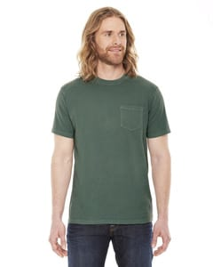 Authentic Pigment AP201 - Mens XtraFine Pocket T-Shirt