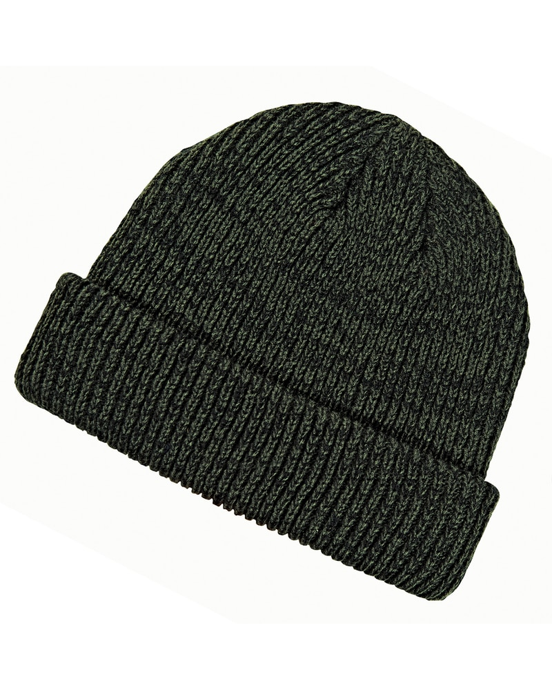 11e783e4317 Big Accessories BA524 - Ribbed Marled Beanie