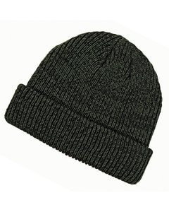 Big Accessories BA524 - Ribbed Marled Beanie