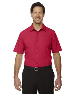 Ash City North End 88675 - Mens Charge Recycled Polyester Performance Short-Sleeve Shirt