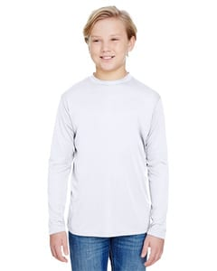 A4 NB3165 - Youth Long Sleeve Cooling Performance Crew Shirt