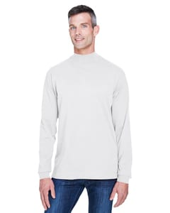 Devon & Jones D420 - Sueded Cotton Jersey Mock Turtleneck