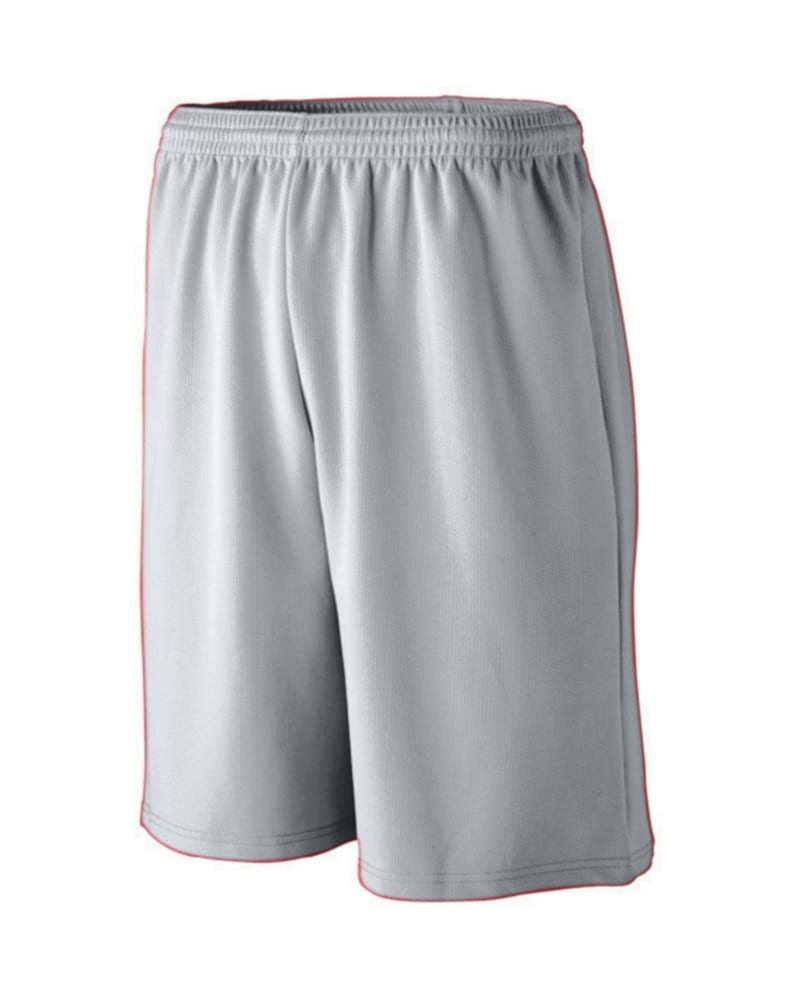 Augusta 802 - Long Length Wicking Mesh Athletic Short