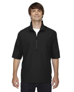 Ash City North End 88084 - Mens M·I·C·R·O Plus Lined Short-Sleeve Wind Shirt with Teflon®