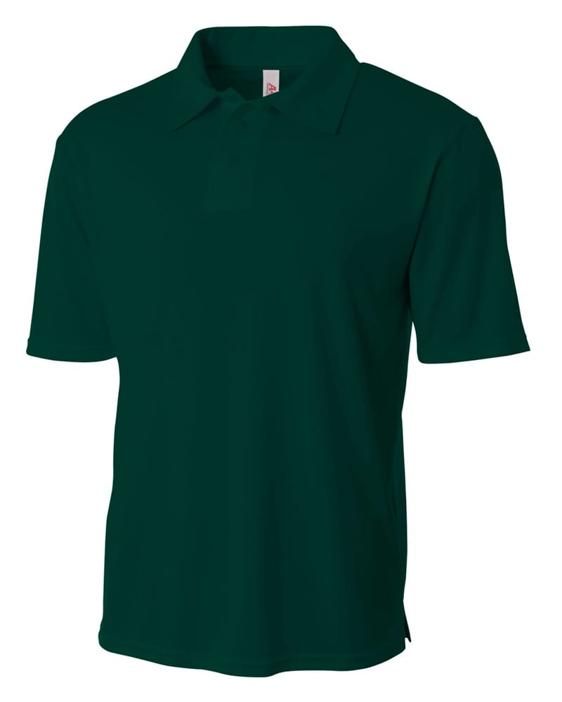 A4 N3261 - Men's Solid Interlock Polo Shirt