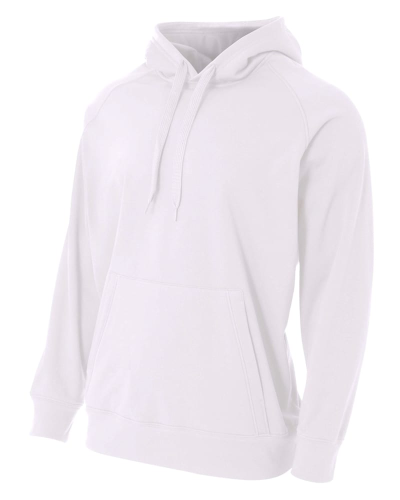 A4 N4237 - Men's Solid Tech Fleece Hoodie
