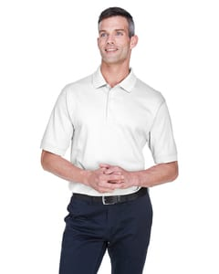 Devon & Jones D140S - Mens Solid Perfect Pima Interlock Polo