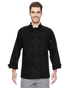 Dickies DC109 - 7 oz. Cloth Knot Button Chef Coat