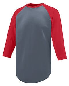 Augusta 1505 - Adult Wicking Polyester 3/4 Raglan Sleeve T-Shirt