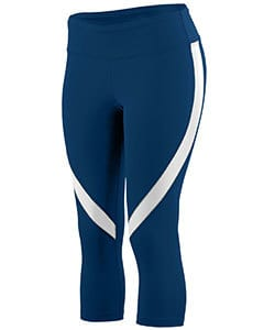 Augusta 2405 - Ladies Wicking Poly/Span Capri