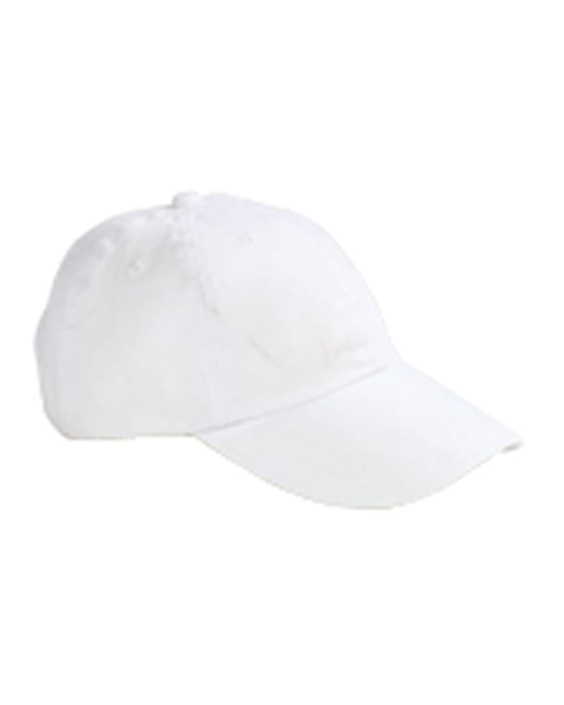Big Accessories BX001 - 6-Panel Brushed Twill Unstructured Cap