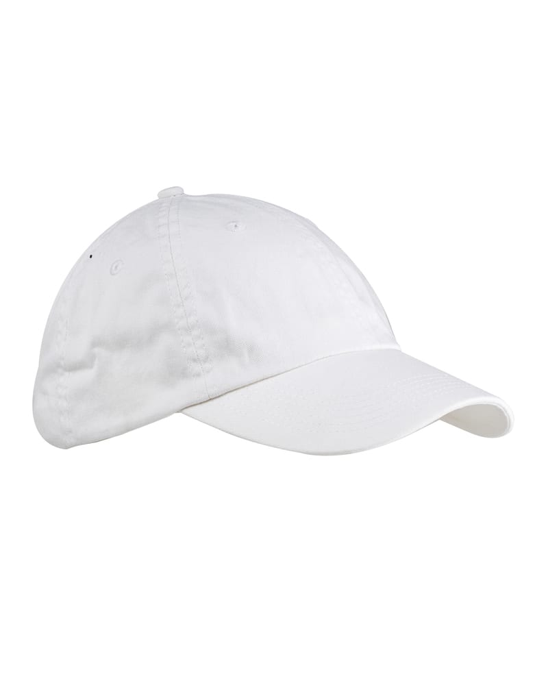 Big Accessories BX005 - 6-Panel Washed Twill Low-Profile Cap