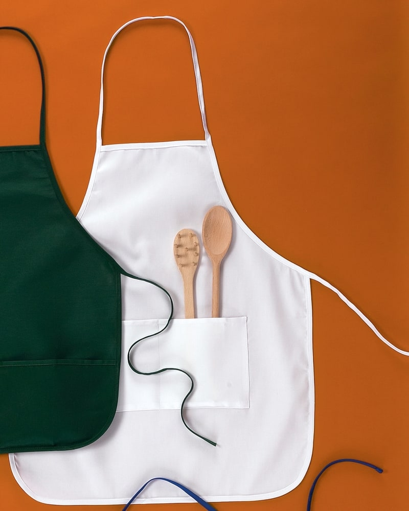 "Big Accessories APR52 - Two-Pocket 28"" Apron"