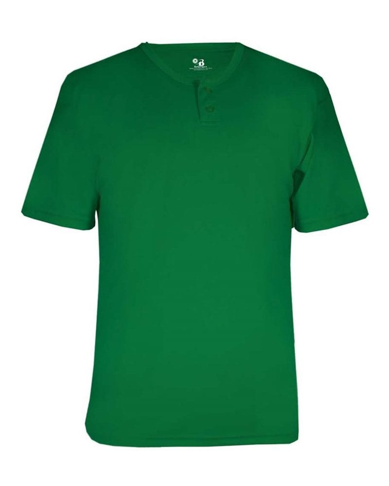 Badger 2930 - B-Core Youth Placket Jersey