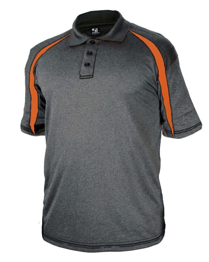 Badger 3347 - Pro Heather Fusion Perfomance Sport Shirt