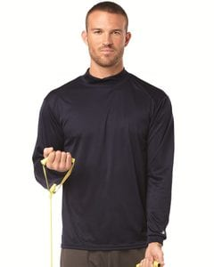 Badger 4156 - B-Core Long Sleeve Mock Turtleneck