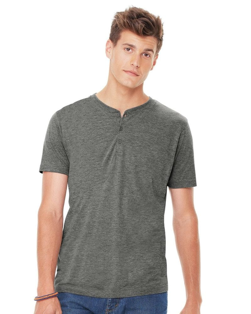 Bella+Canvas 3125 - Short Sleeve Henley