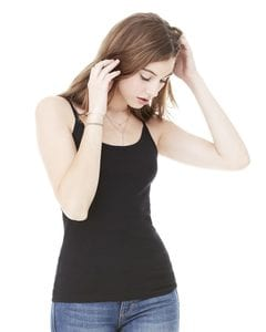 Bella+Canvas 8111 - Ladies Sheer Jersey Scoopneck Tank Top