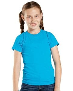 LAT 2605 - Girls Vintage Fine Jersey Longer Length T-Shirt