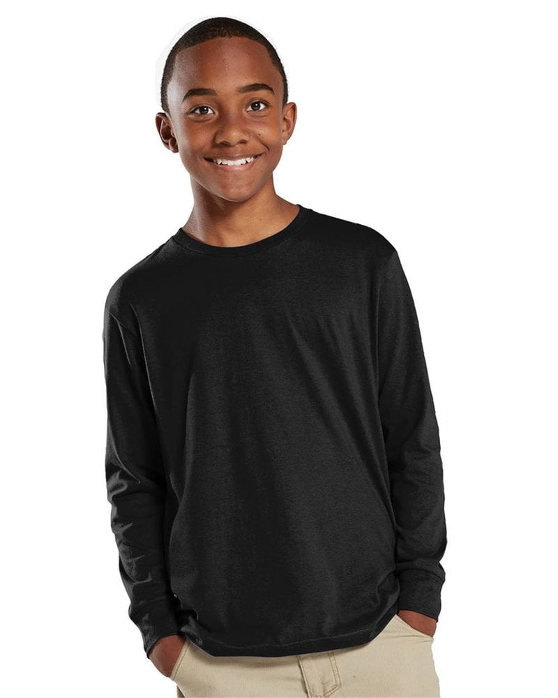 LAT 6201 - Youth Fine Jersey Long Sleeve T-Shirt