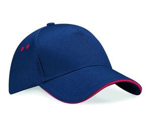 Beechfield BF15C - Ultimate 5 Panel Cap - Sandwich Peak