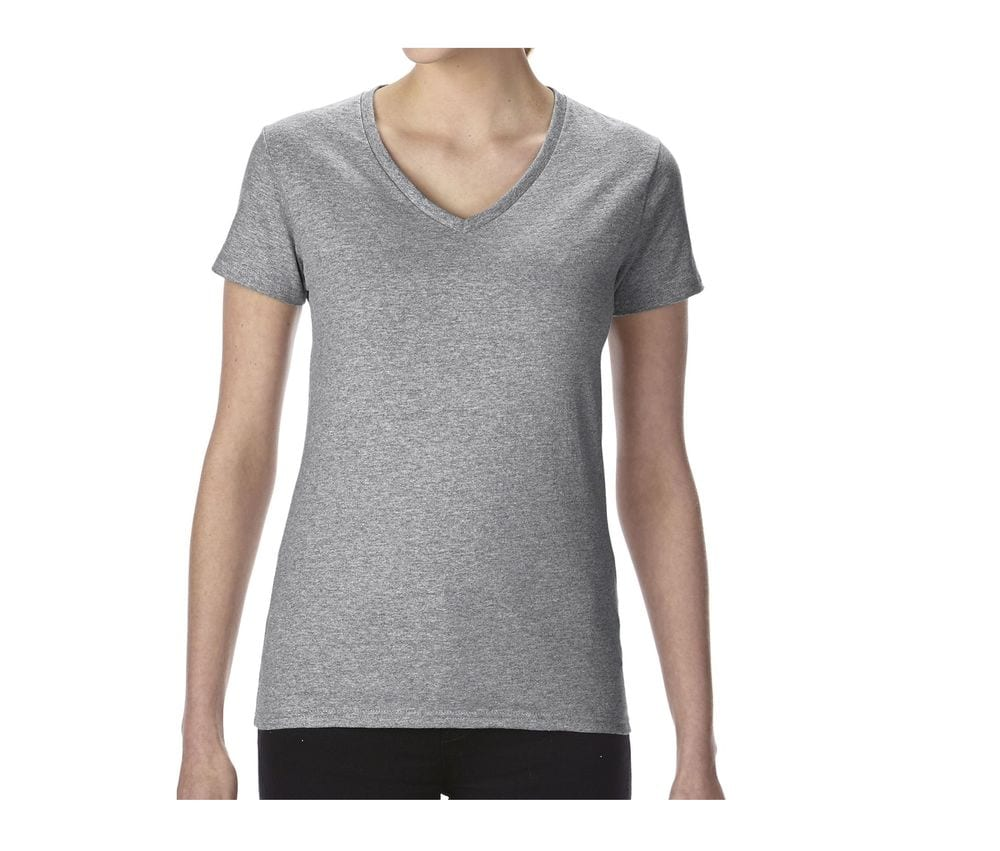 GILDAN GN412 - Ladies' V-Neck Tee