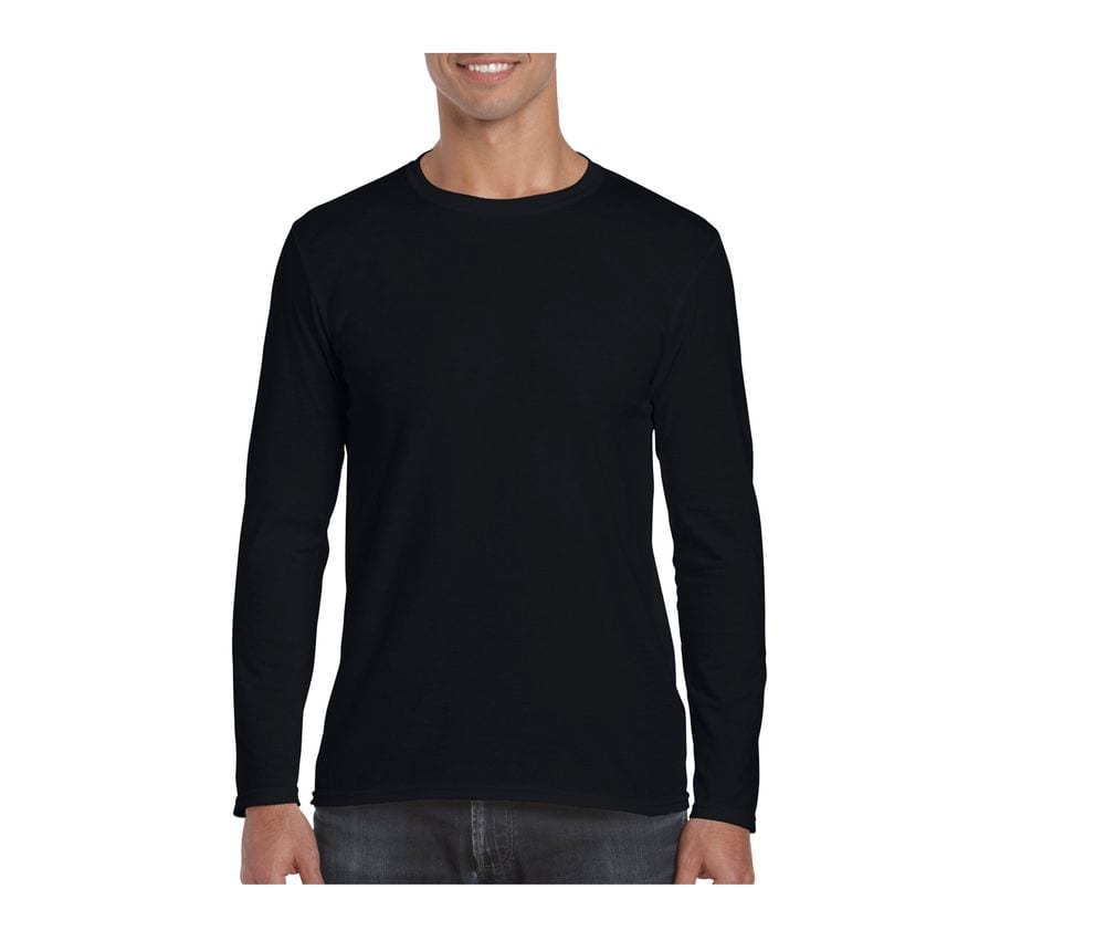 Gildan GN644 - Softstyle Adult Long Sleeve T-Shirt