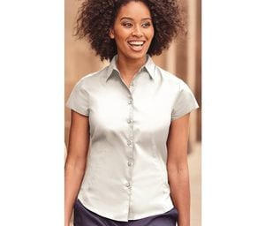 Russell Collection JZ47F - Ladies Short Sleeve Fitted Shirt