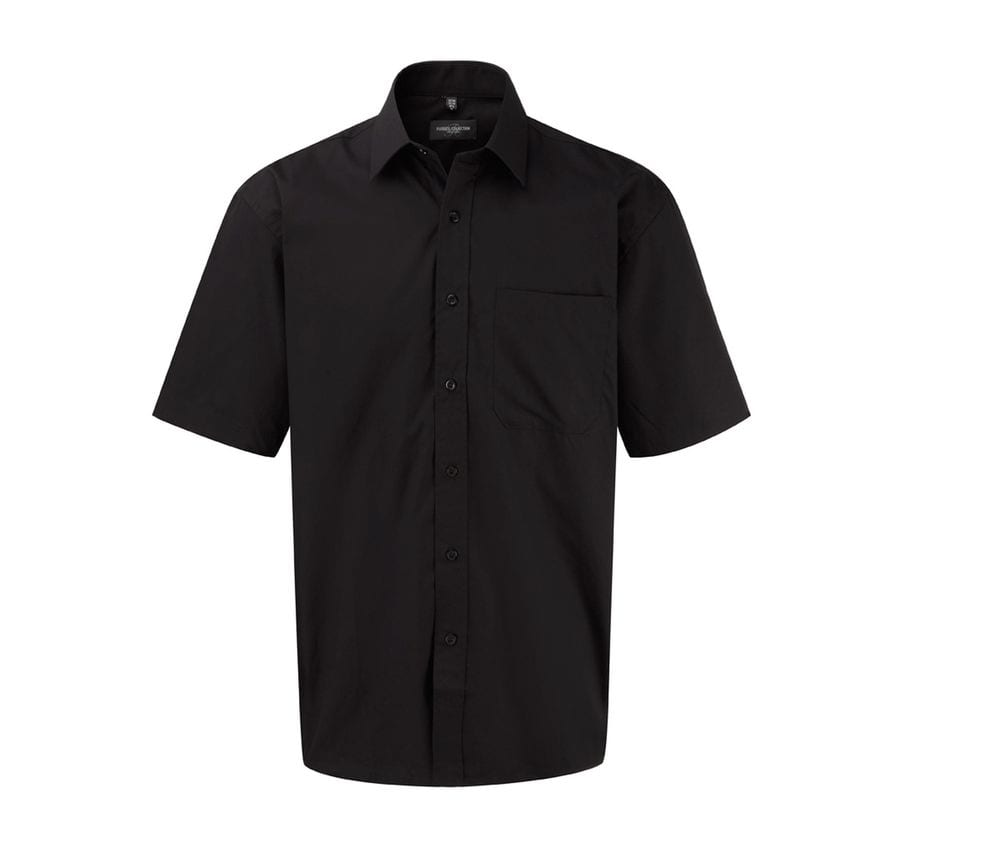 Russell Collection JZ937 - Cotton Poplin Shirt
