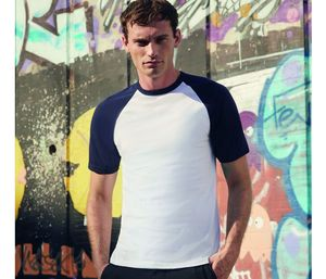 Fruit of the Loom SC237 - Short Sleeve Baseball T