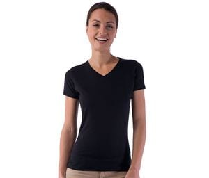 SANS Étiquette SE634 - Ladies no label V-neck t-shirt