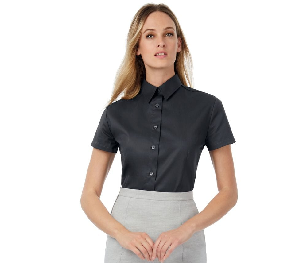 B&C BC718 - Sharp short sleeve /women