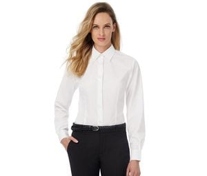 B&C BC722 - Ladies Smart Long Sleeve Poplin Shirt