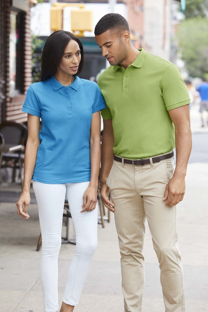 GILDAN GN859 - Premium Cotton Ladies' Double Piqué Polo