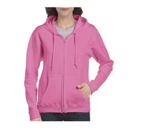 GILDAN GN961 - Heavy Blend Dames Sweater Rits en Capuchon
