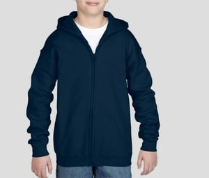 GILDAN GN962 - Youth Full Zip Hooded Sweatshirt