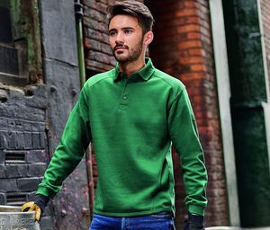 RUSSELL JZ012 - Sweatshirt Col Polo 60 °
