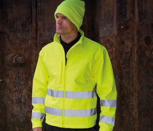 Result RS117 - Core high viz winter softshell EN471 Class 2