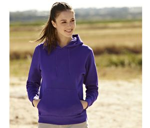 Fruit of the Loom SC269 - Sudadera capucha Lady-Fit
