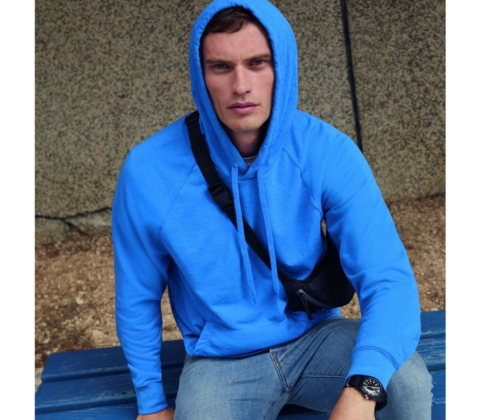 FRUIT OF THE LOOM SC362 - Lightweight Hooded Sweat